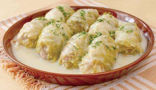 クリームロール白菜
